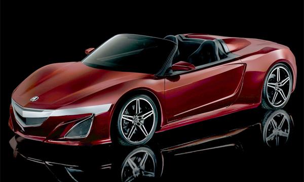 Acura NSX превратят в родстер