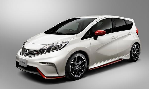 Nissan показал «заряженный» Note Nismo
