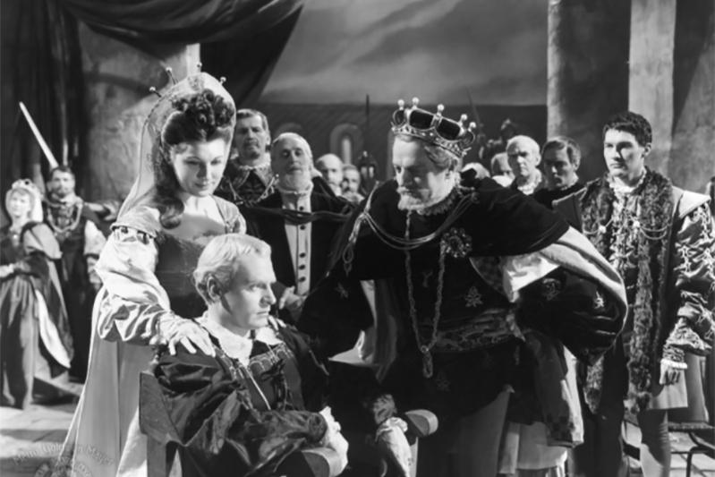 Кадр из фильма «Гамлет»