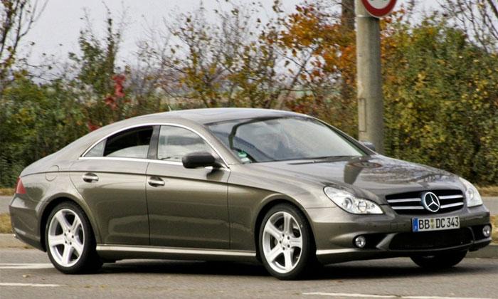 Mercedes-Benz CLS прошел рестайлинг