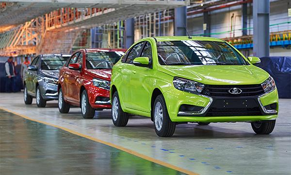 Призеров Олимпиады предложили награждать автомобилями Lada