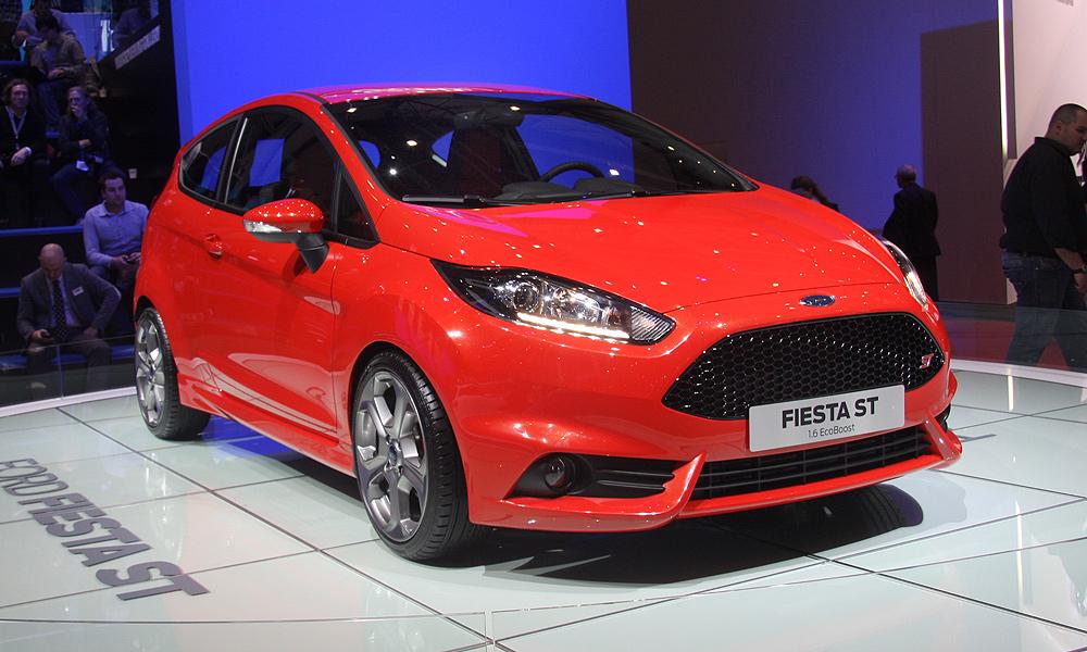 Новая Ford Fiesta ST дебютировала в Женеве
