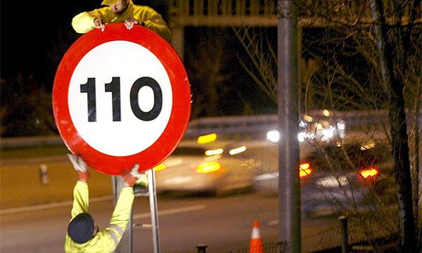 На некоторых участках МКАД могут разрешить скорость 110 км\ч