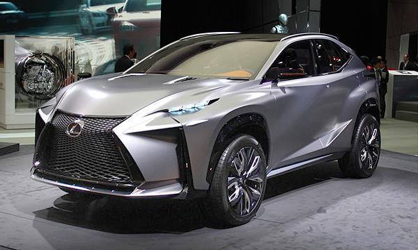 Lexus LF-NX оснастили новым турбомотором