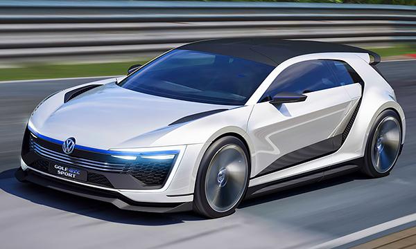 Volkswagen Golf получил 400-сильную гибридную установку