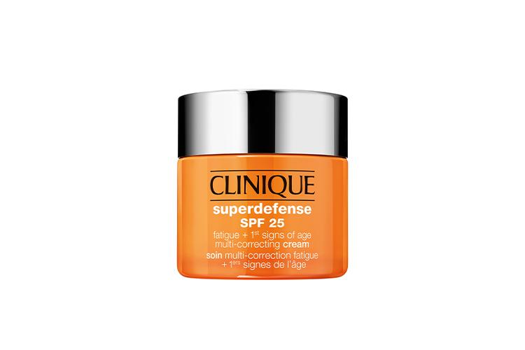 Корректирующий крем против следов усталости на лице и первых признаков старения кожи Superdefense SPF 25, Clinique