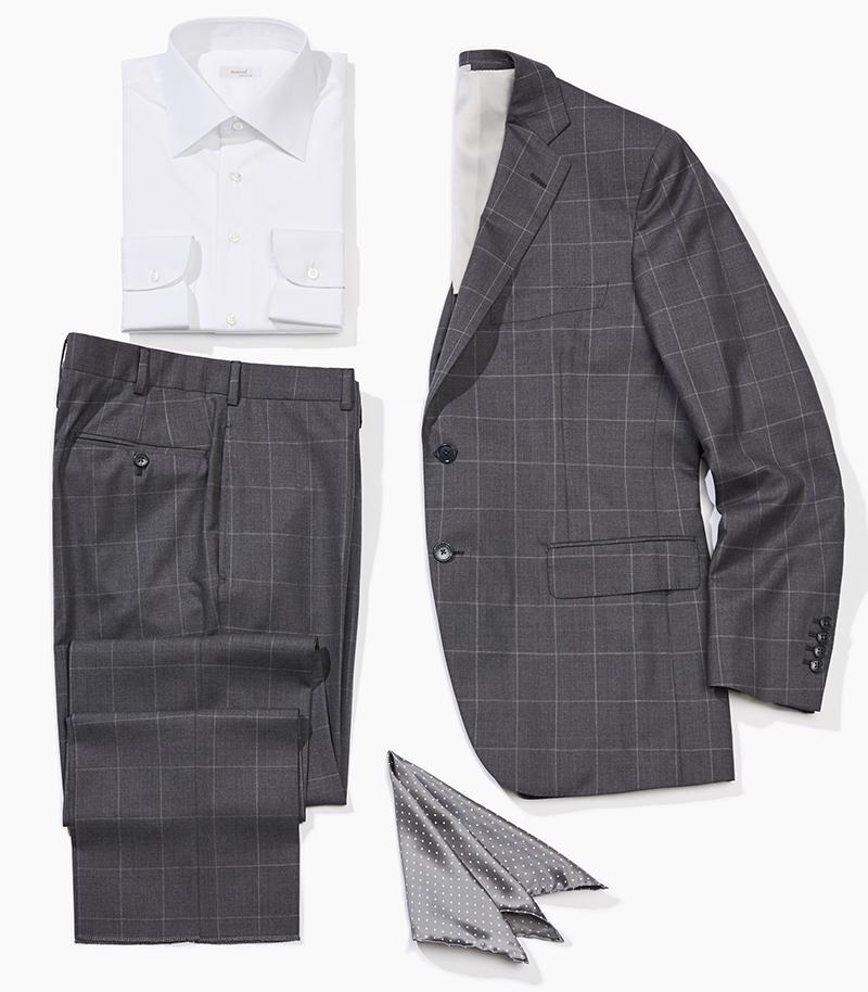 Костюм Atelier Portofino, рубашка Marol, платок Italo Ferretti
