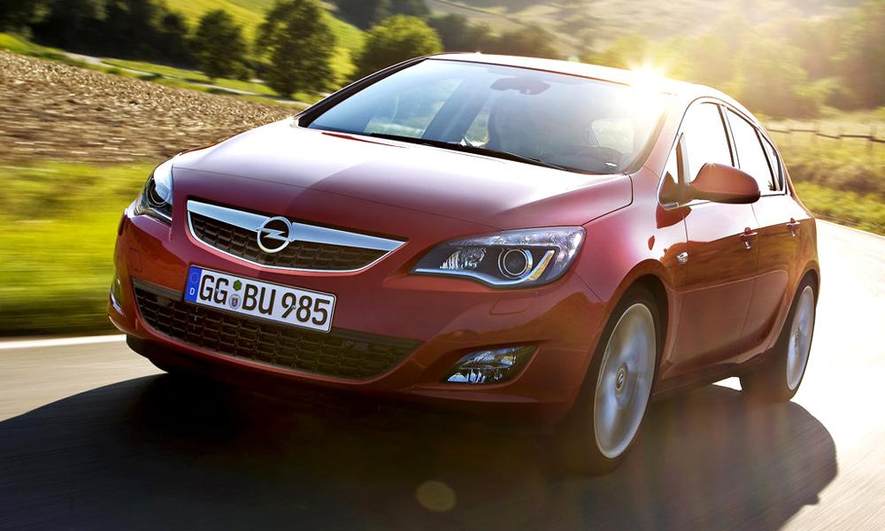 Opel Astra – тест на нашей территории