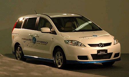 Гибридный минивэн Mazda5