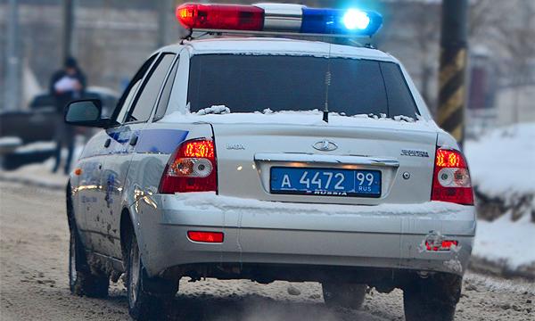 Водитель иномарки пытался заехать в Кремль после гонки с полицией