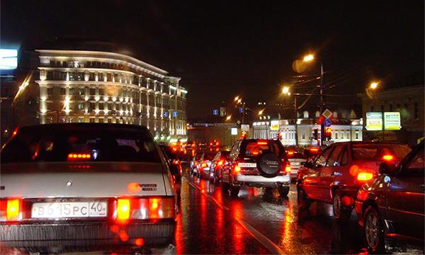 Сервис «Яндекс.Пробки» предсказал девятибалльные вечерние пробки вМоскве
