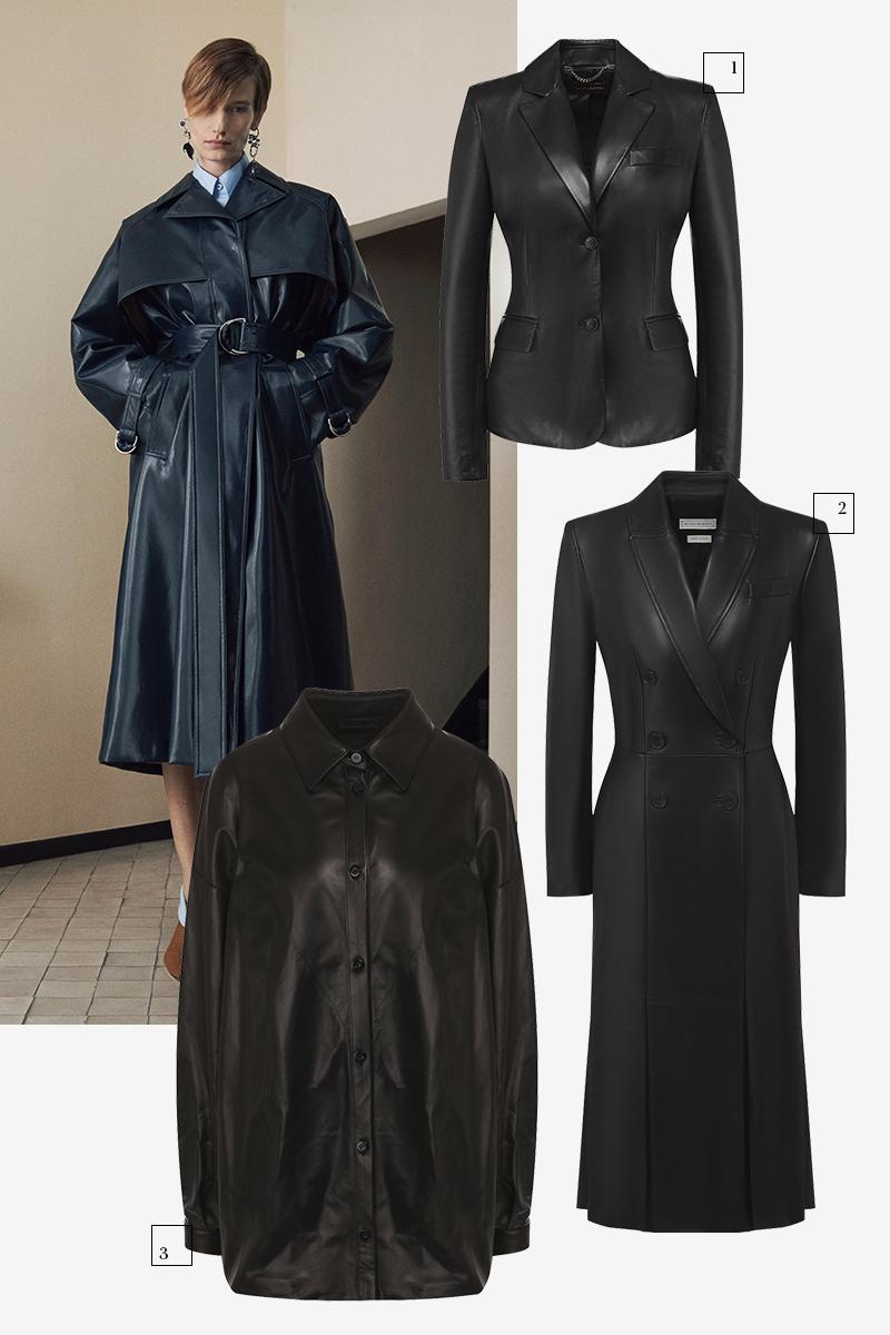 Givenchy  1) Altuzarra (ЦУМ), 130 500 руб. 2) Alexander McQueen (Третьяковский проезд), 370 000 руб. 3) DROMe (ЦУМ), 69 950 руб.