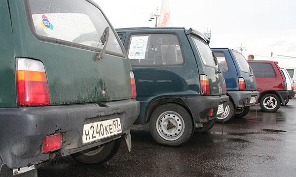 В Москве для малолитражек откроют специальные парковки