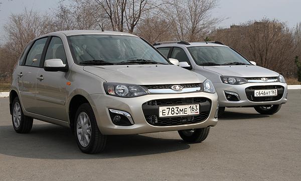 Самая популярная версия Lada Kalina 2 поступила в автосалоны