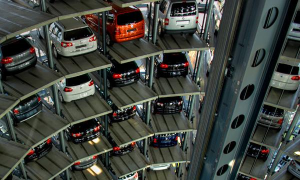 В центре Москвы появятся автоматизированные парковки