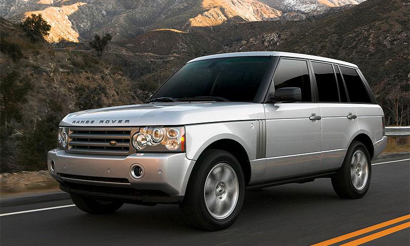 Range Rover 2007 научили отличать бензин от дизтоплива