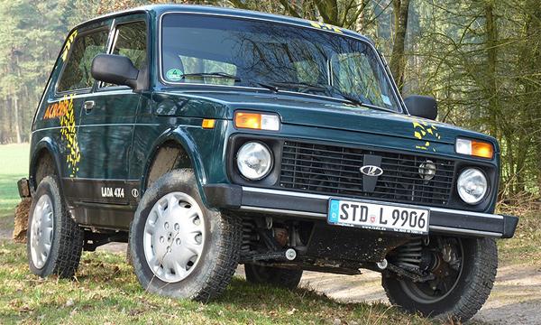 В Германии «Нива» оказалась популярнее Range Rover