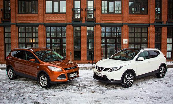 Время компромиссов. Nissan Qashqai против Ford Kuga