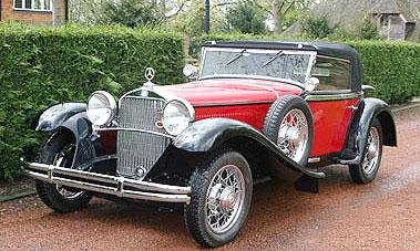 Mercedes-Benz 370S Mannheim 1931