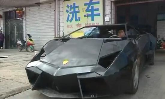 Китаец построил Lamborghini Reventon из металлолома