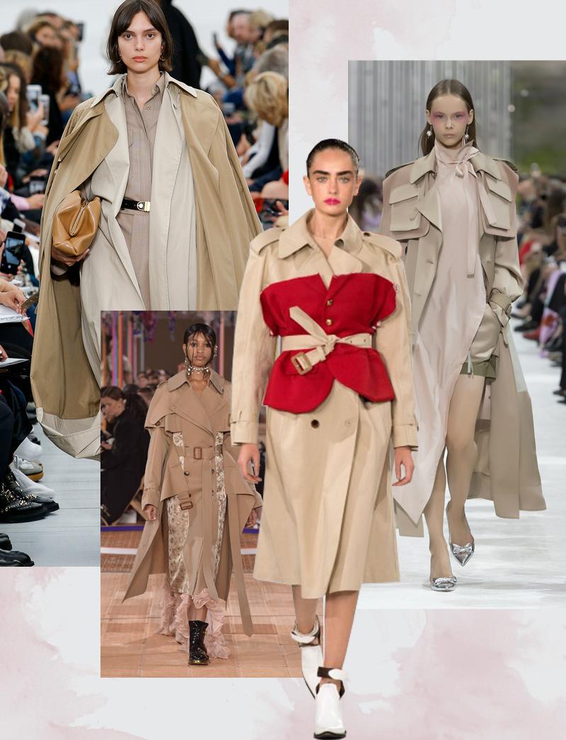 Модели с показов Celine; Valentino;Maison Margiela; Alexander McQueen