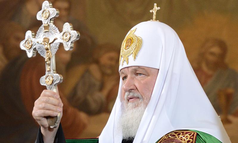 Глава РПЦ Патриарх Кирилл призвал священнослужителей