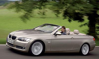 Новый кабриолет BMW 3 дебютирует в январе