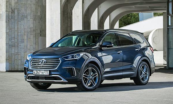 Hyundai назвал российские цены на обновленный Grand Santa Fe