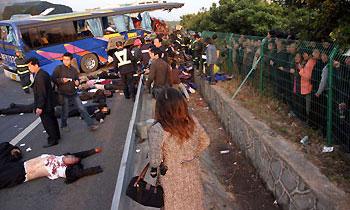 ДТП в Малайзии происходят раз в шесть минут