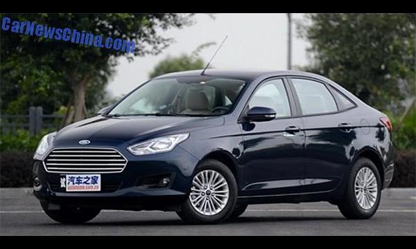 Ford представил бюджетный седан Escort