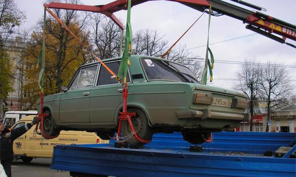 За неуплату штрафов начали отбирать автомобили