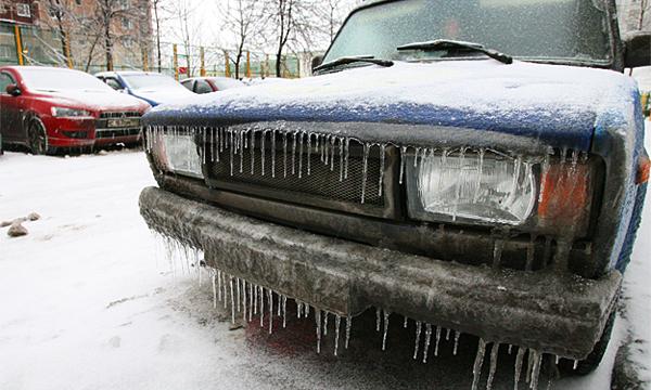 Московских водителей предупредили о ледяном дожде