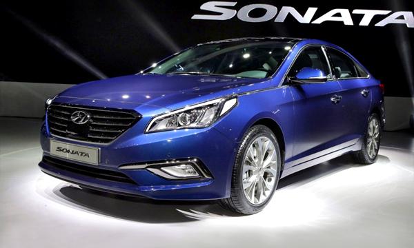 Hyundai представил новое поколение Sonata