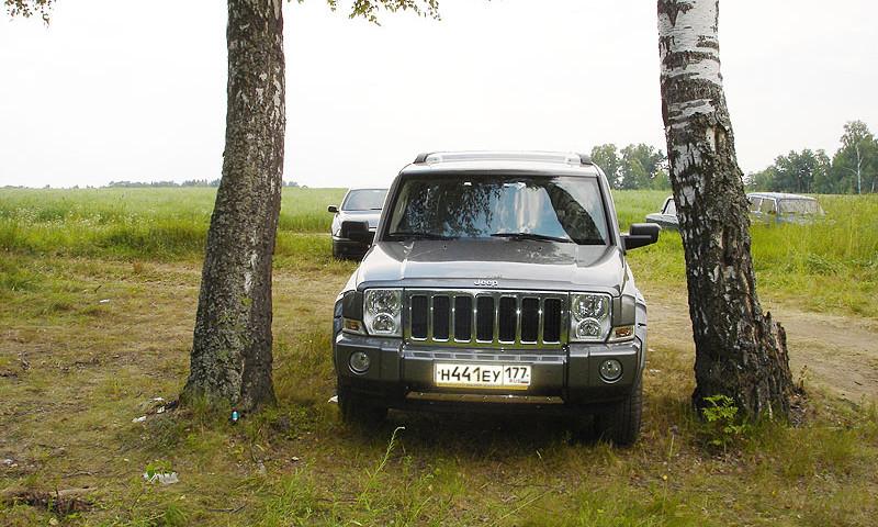 Jeep Commander в естественной среде обитания