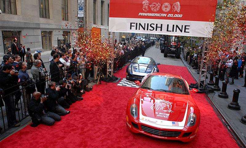 Ferrari завершила трансамериканский пробег