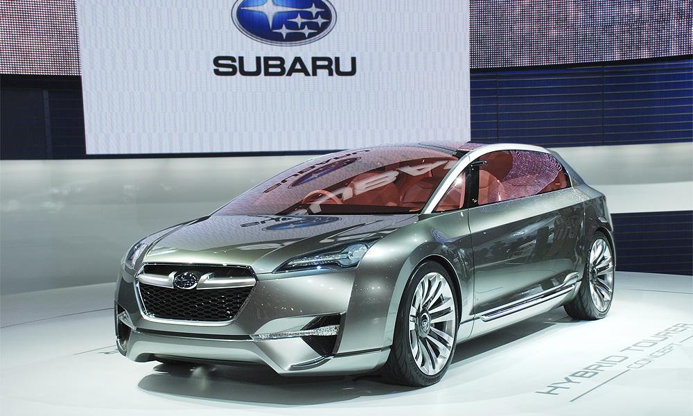 Subaru  готовит технореволюцию – оппозитный гибрид