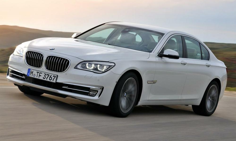 BMW обновила седан 7-ой серии. ВИДЕО