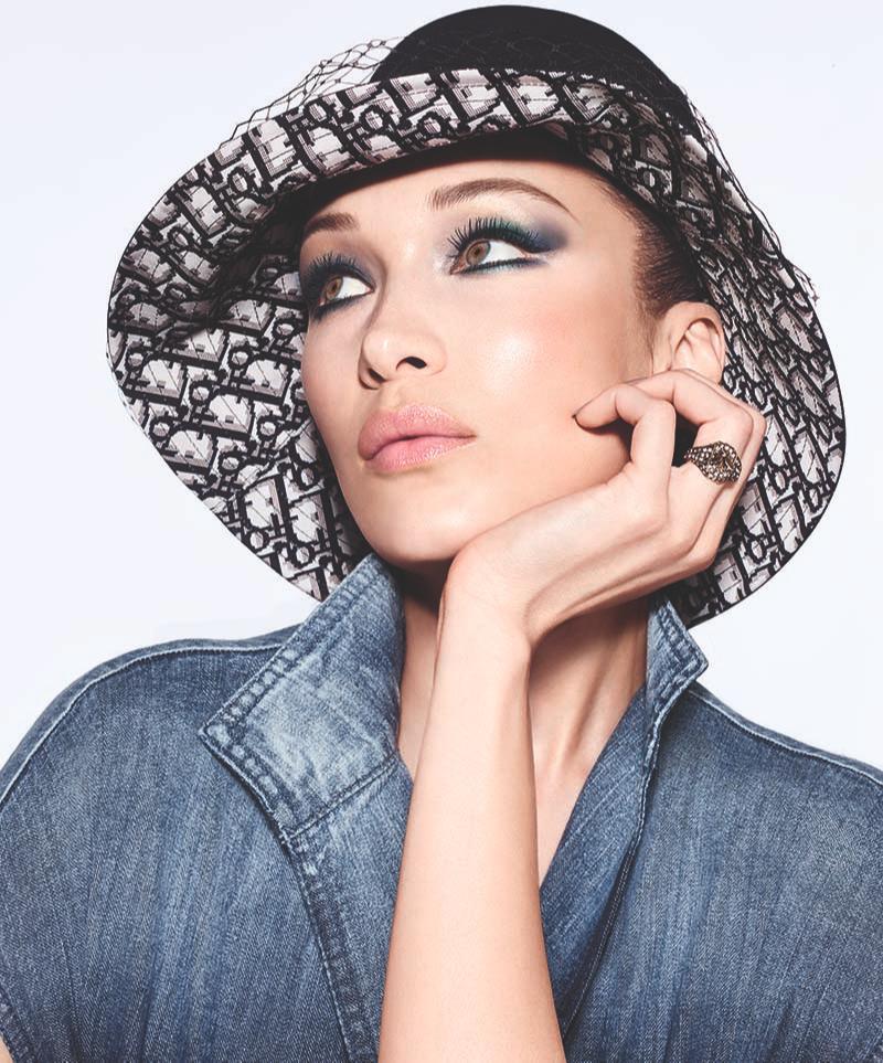 Белла Хадид в рекламе коллекции макияжа Diorshow 2020, Dior
