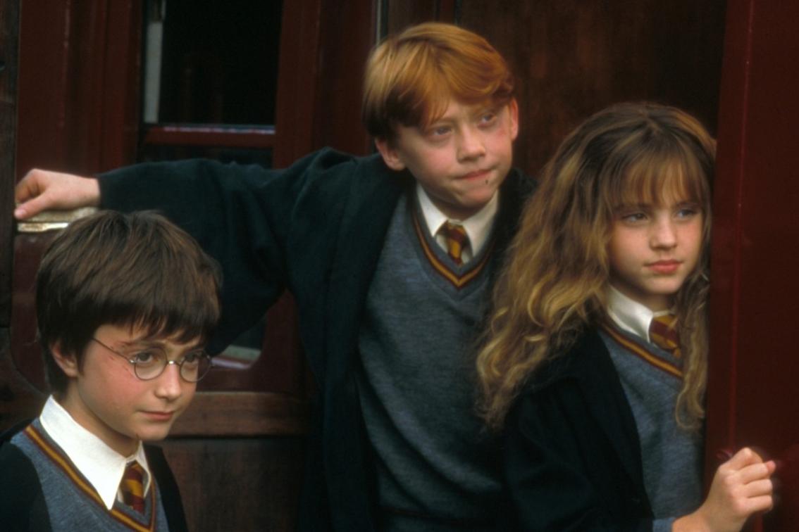 Кадр из фильма «Гарри Поттер и философский камень»
