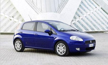 Fiat Grande Punto в пятидверном исполнении