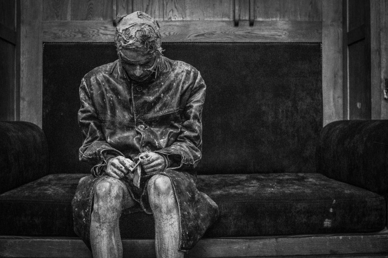 Филипп Авдеев в спектакле Антона Адасинского «Мандельштам. Век-волкодав»