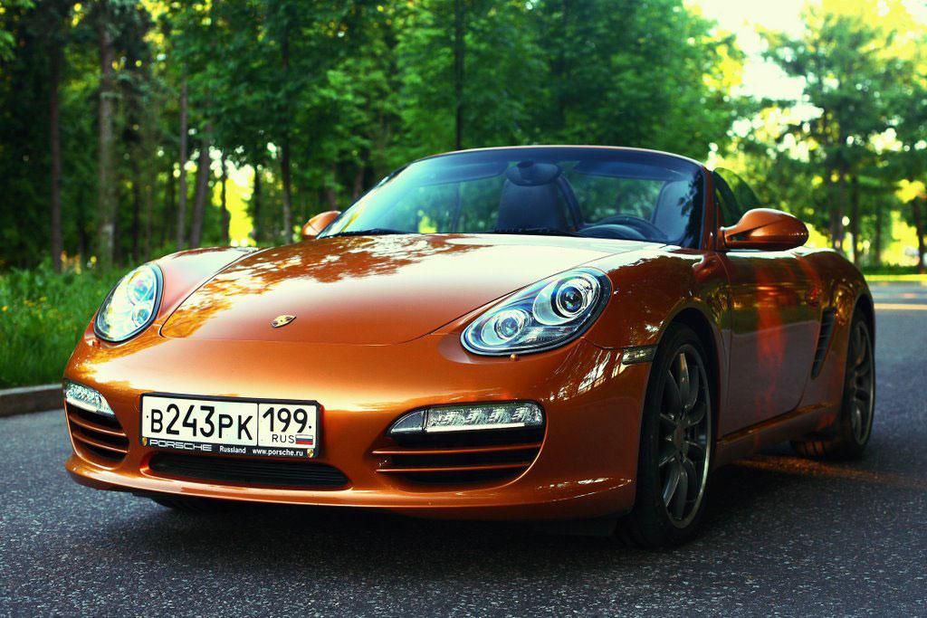 Porsche превращает Boxster в неоклассику