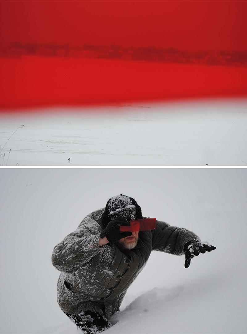 Серия фотографий «Охотники за метеоритами», 2012