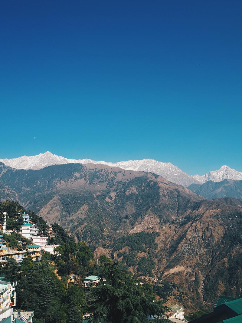 Вид на город с резиденции Далай-ламы