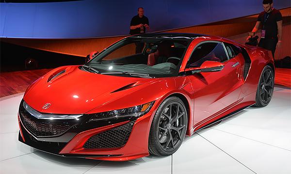 Acura представила новое поколение спорткара NSX