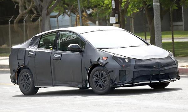 Toyota покажет новое поколение Prius во Франкфурте
