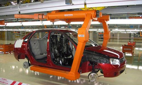 Объем производства легковых автомобилей в России вырос на 3,7%