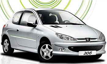 Peugeot 206 XBOX 360