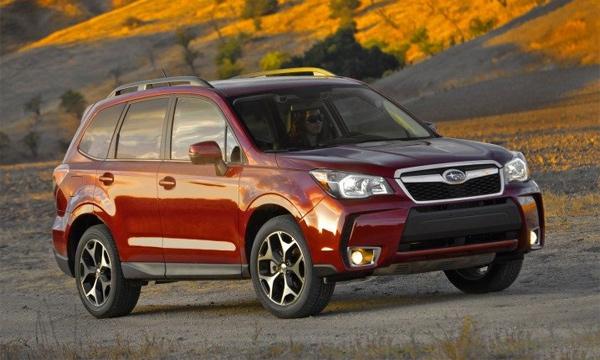 В России начались продажи нового Subaru Forester