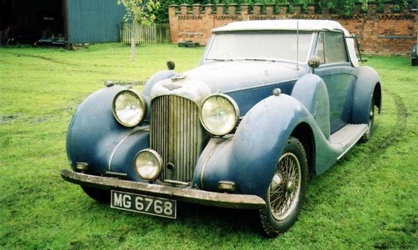 Lagonda V12 Drophead 1939 года